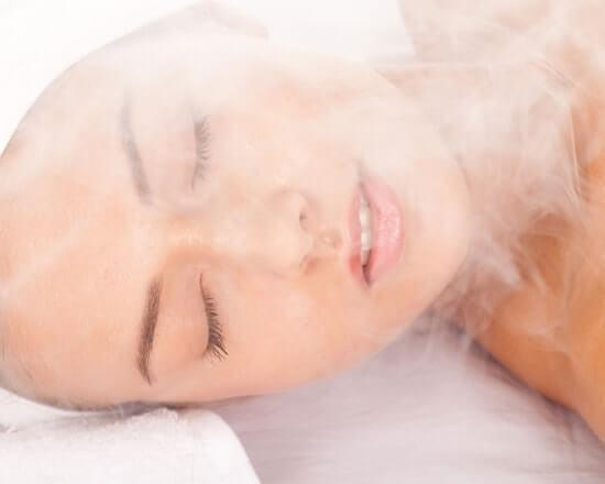 steaming-your-face-for-glowing-skin