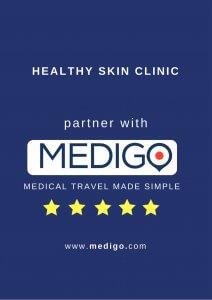 medigo award for Healthy Skin Clinic