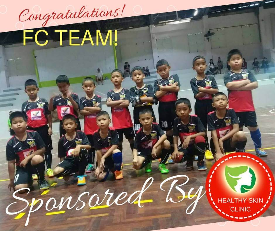 Healthy Skin Clinic Sponsor of Team FC