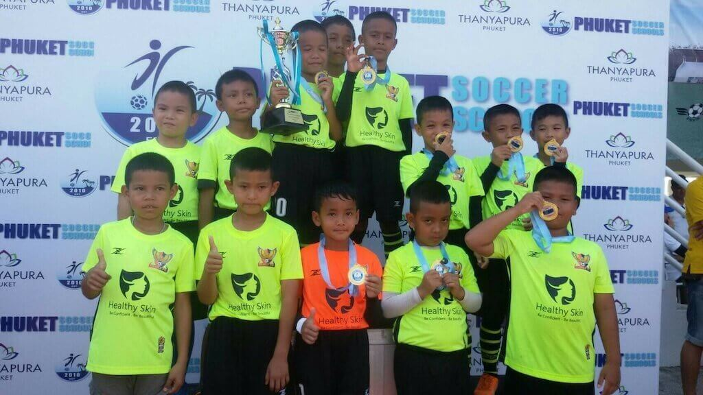 Team FC Winners of Phuket Cup