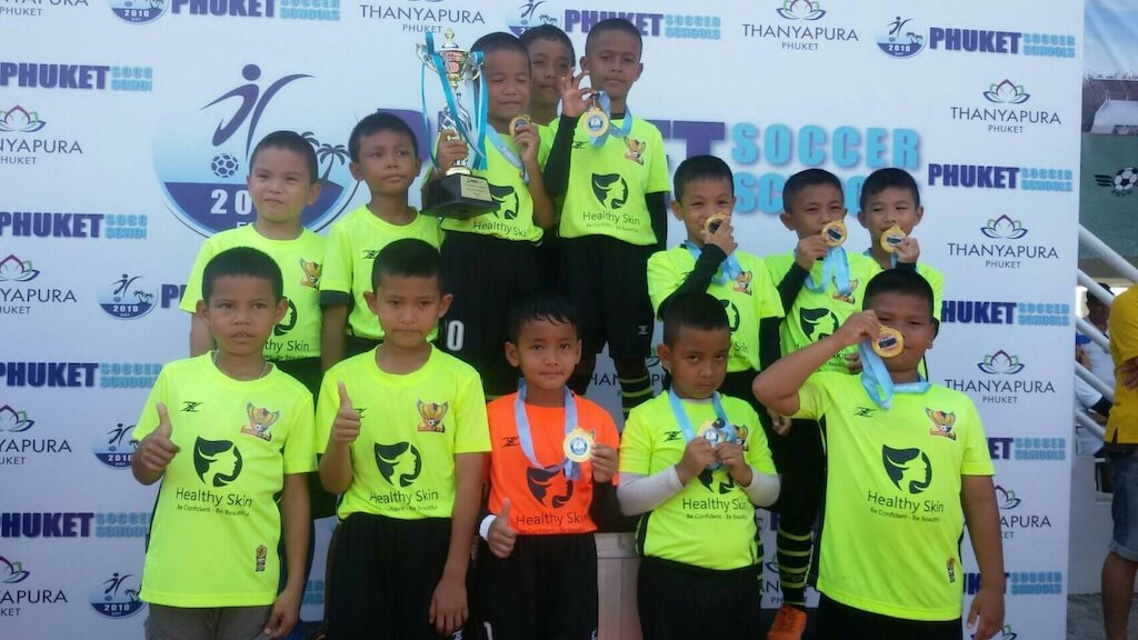 Team FC Winners of Phuket Cup