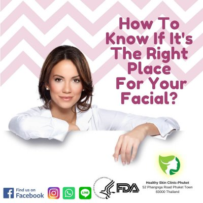 Tips : The Right Place For Your Facial