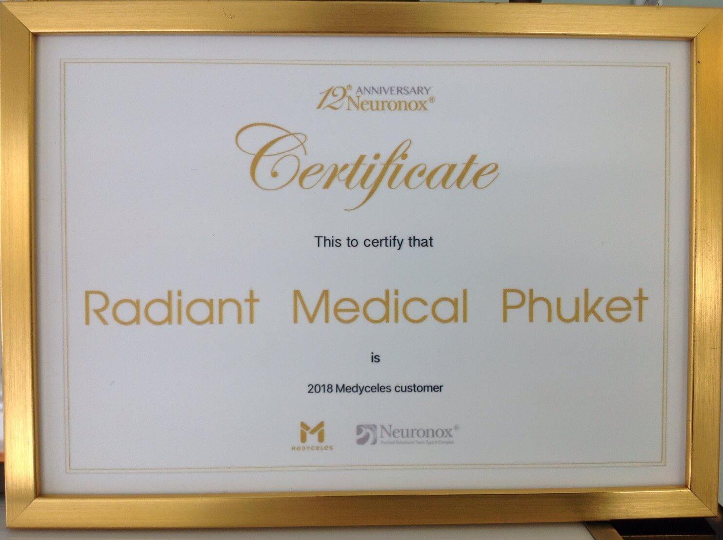 Neuronox – Top Clinic in Phuket 2018
