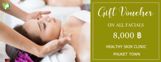 Healthy Skin Clinic Gift Voucher 8000 THB – front