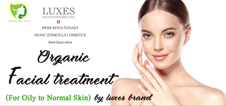 Organic Facial Treatment Banner
